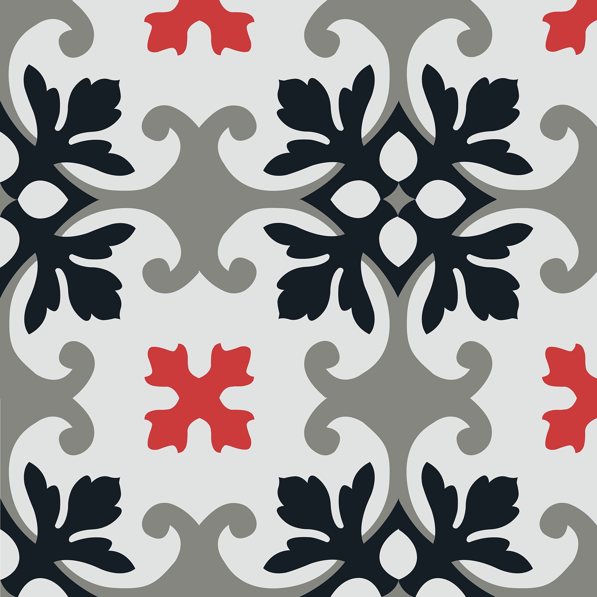 carreau de ciment motif fleuri arborescence sud ouest. Black Bedroom Furniture Sets. Home Design Ideas