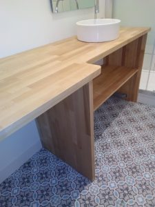 Carreau de ciment Nordic salle de bain