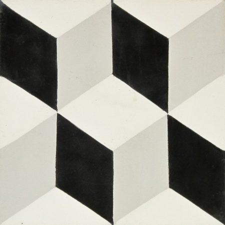 carreau-de-ciment-petit-cubic-noir