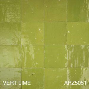 Zellige vert lime ARZ5051