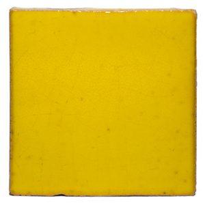 Terre cuite émaillée Yellow Acid