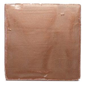Terre cuite émaillée Blush Copper