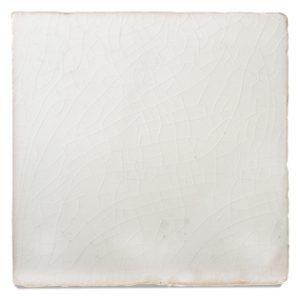 Terre cuite émaillée Transparent White B190
