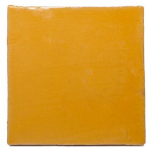 Terre cuite émaillé Yellow Yolk B001
