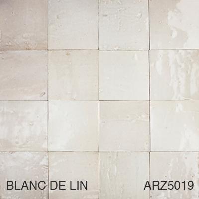 Zellige Blanc De Lin