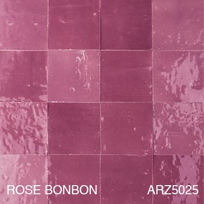 Zellige Rose Bonbon