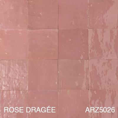 Zellige Rose Dragée