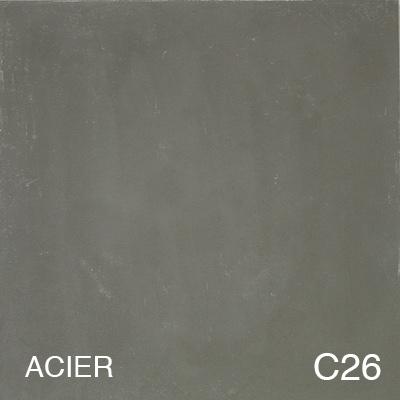carreau de ciment Acier