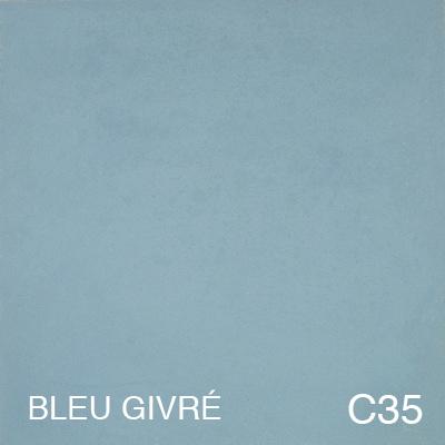 carreau de ciment Bleu Givré