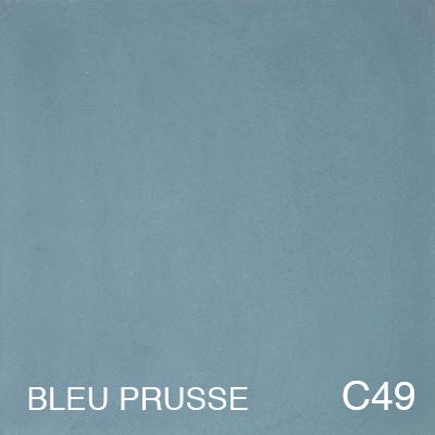 carreau de ciment Bleu Prusse
