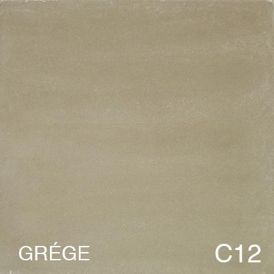 carreau de ciment Grége