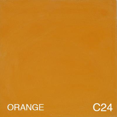 carreau de ciment Orange