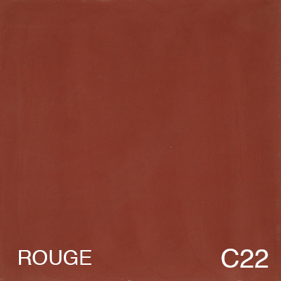 carreau de ciment Rouge