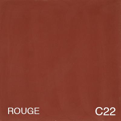 carreau de ciment Rouge