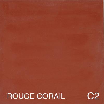 carreau de ciment Rouge Corail