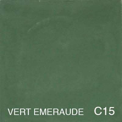carreau de ciment Vert Emeraude