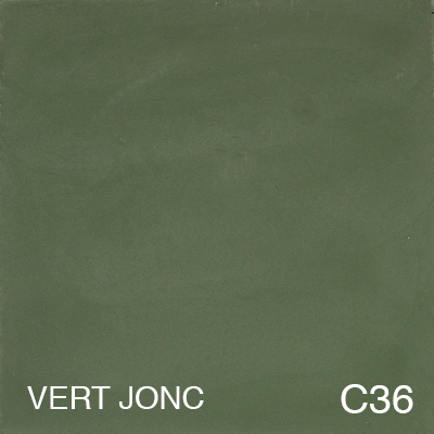 carreau de ciment Vert Jonc