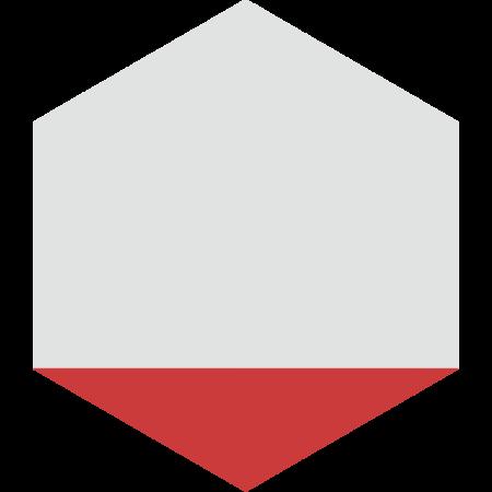 carreau hexagonal DELTA-ROUGE