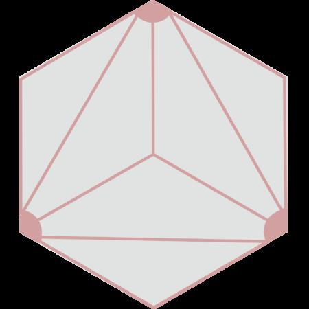 carreau hexagonal DIVA