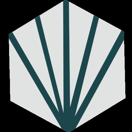 carreau hexagonal ECLAIR