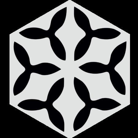 carreau hexagonal FLEUR