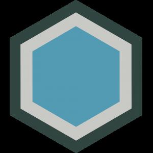 carreau hexagonal URBAN-BLEU