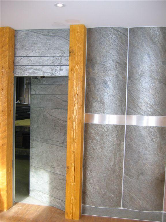 Feuille de pierre naturelle - revêtement mural - Arborescence Sud Ouest