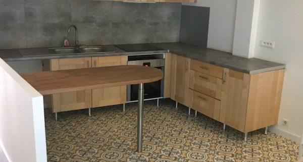 Aménagement d'une cuisine ouverte