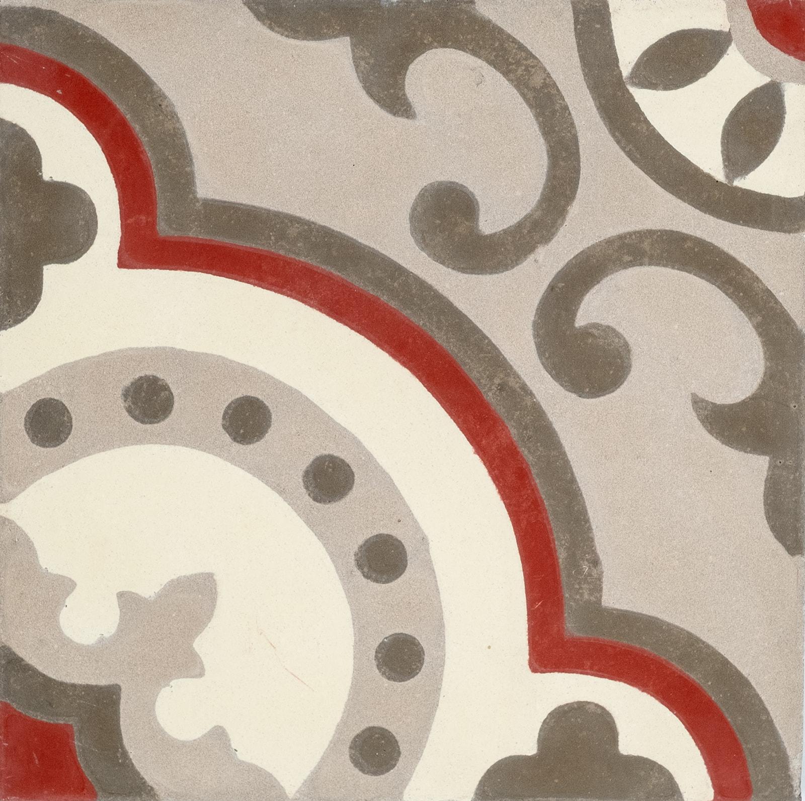 carreau de ciment floral arborescence sud ouest. Black Bedroom Furniture Sets. Home Design Ideas